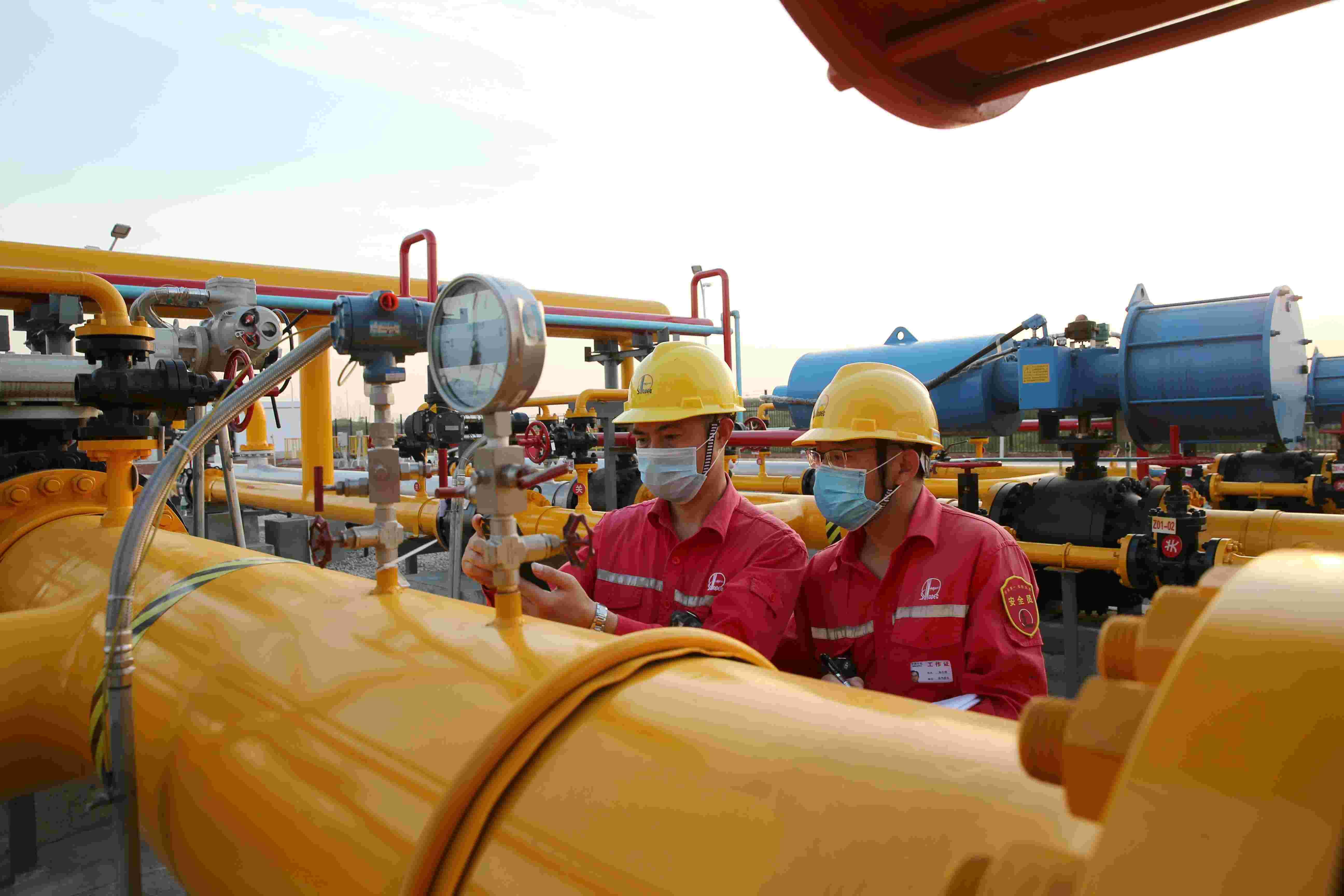 寒流即将来袭  中国石化加紧部署保障民生用气