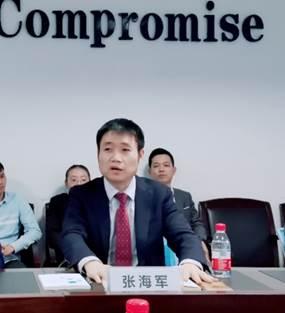金蝶软件(中国)有限公司副总裁 张海军