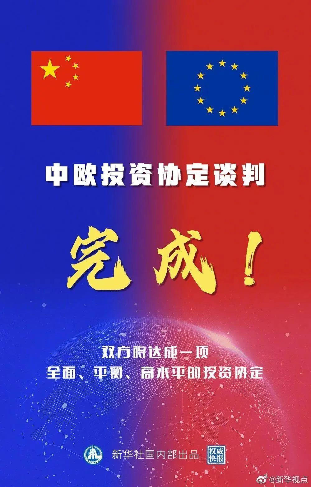 usdt钱包(caibao.it):中欧投资协定谈判,如期完成! 第1张