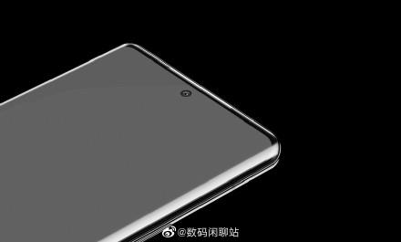 电银付安装教程(dianyinzhifu.com):华为P50 Pro正面渲染图曝光:居中打孔 双曲面屏 第3张