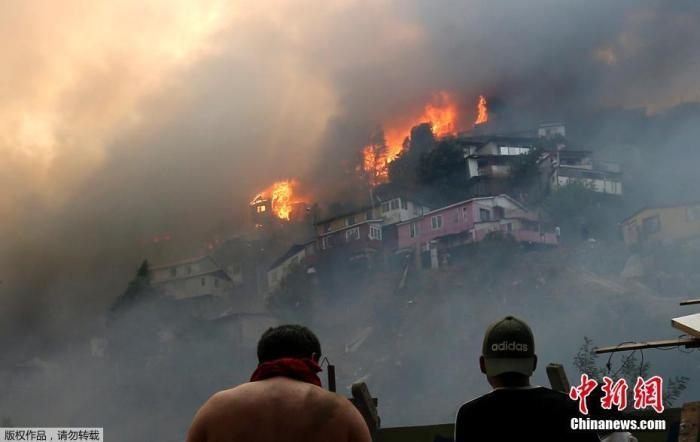 智利国家林业局:全国37%森林火灾系蓄意纵火引发