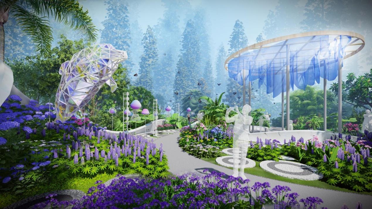 """五大看点  精彩呈现 100天后,去第十届中国花博会看""""太平洋保险花园""""!"""