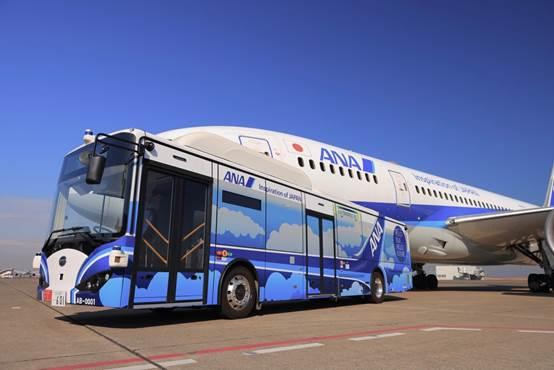 比亚迪与ANA在东京羽田机场开展自动驾驶大巴试运行