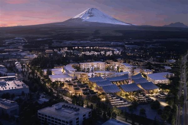 """丰田""""编织之城""""正式奠基:富士山下的乌托邦"""