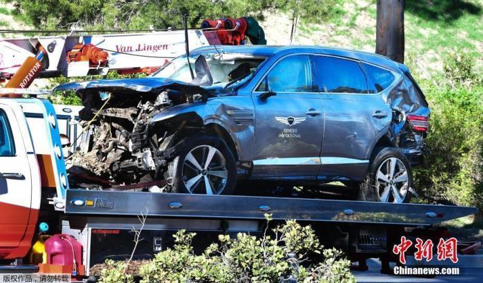 洛杉矶警长:伍兹不会遭鲁莽驾驶指控 只是意外事故