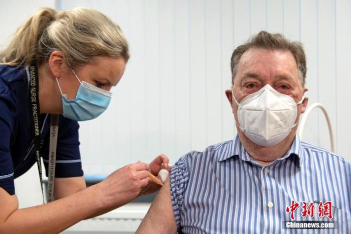 英国新冠疫苗第一剂接种超2000万人