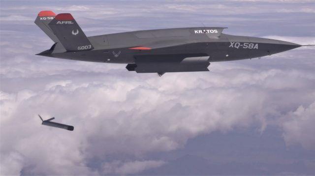 """美军F-35""""隐身无人僚机""""成功发射小型无人机,或改变未来空战"""