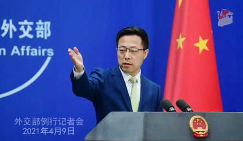 外交部:中方在中美关系、保护知识产权、涉台问题上的立场是明确的