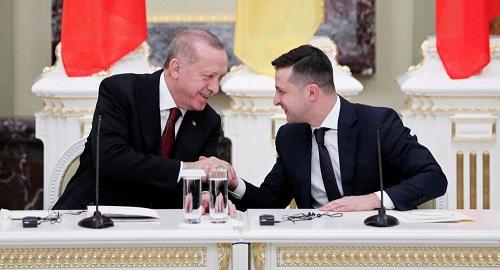俄媒:乌克兰总统在土耳其找到知音 称埃尔多安支持乌加入北约