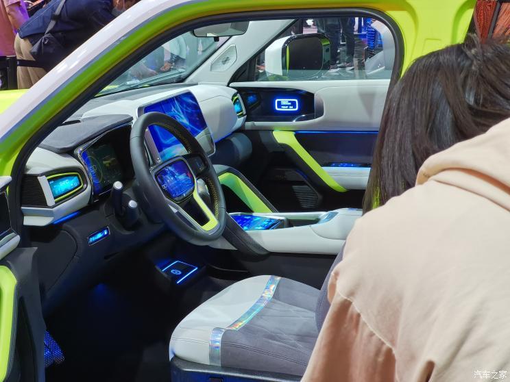 2021上海车展:哈弗X DOG概念车发布