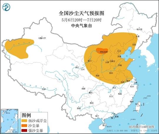 为何今年沙尘大风天气频发?蒙古国难辞其咎