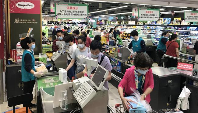 """""""五一""""广州商场旺了 天河路商圈客流量超1000万"""