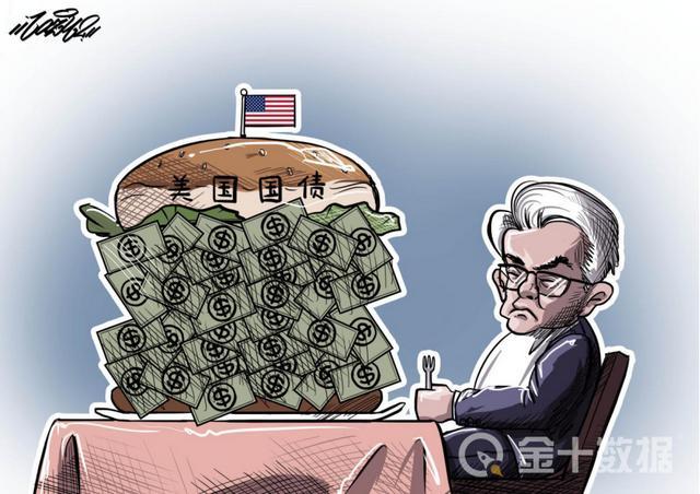 """美国""""超支""""12万亿,却还想再借40万亿!中国已抛售13720亿美债"""