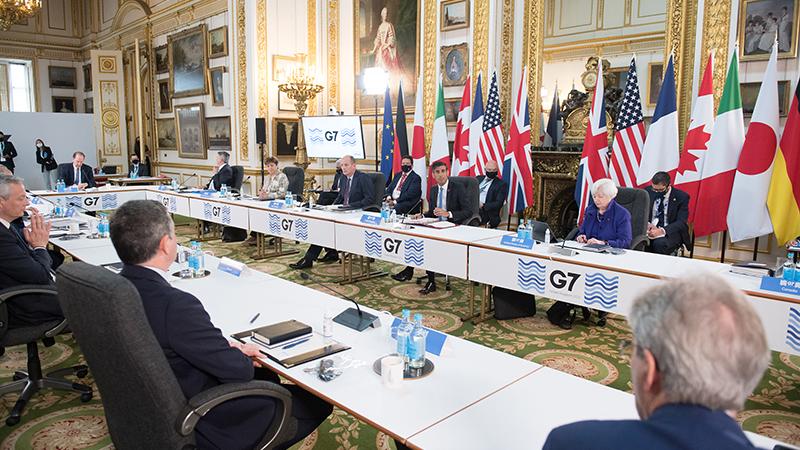 拜登顺利向G7兜售全球最低企业税,但共和党人对此齐声唱反调