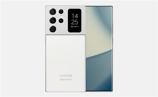 """三星版""""小米11 Ultra""""!老外绘制Galaxy Note 21 Ultra渲染图"""