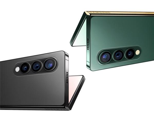 三星Galaxy Z Fold 3渲染图曝光:纯平中框成今年主流
