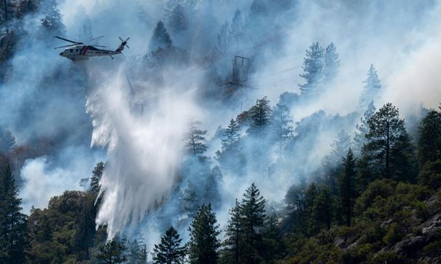 经常引发山火,加州宣布斥巨资将1.6万公里输电线埋入地下