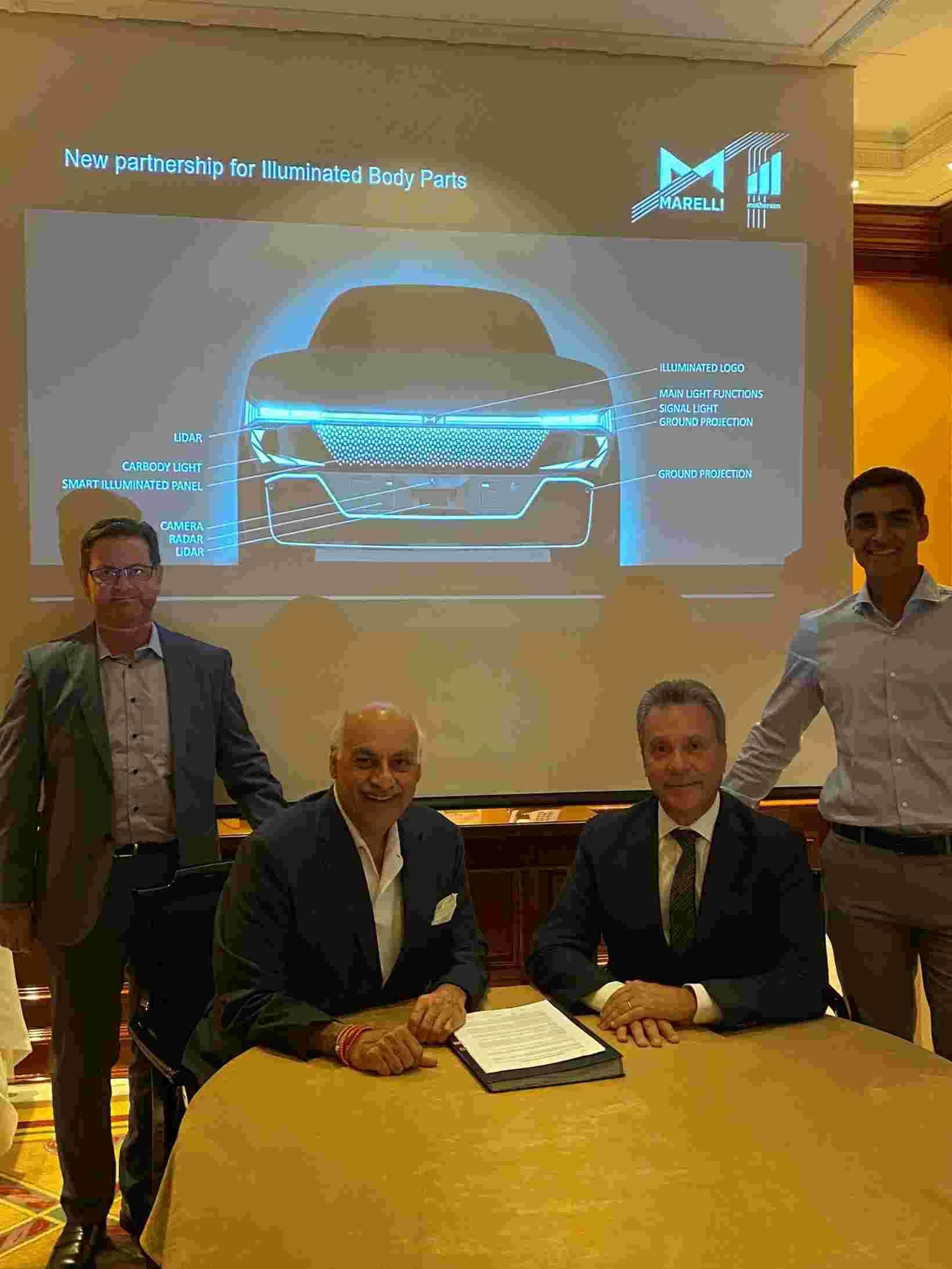 马瑞利与SMRP BV合作 打造汽车智能照明外饰零部件