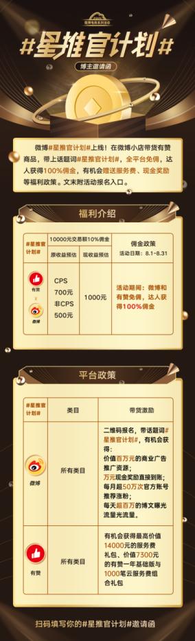 有赞+微博强强联手,如何帮TOP达人日销百万?