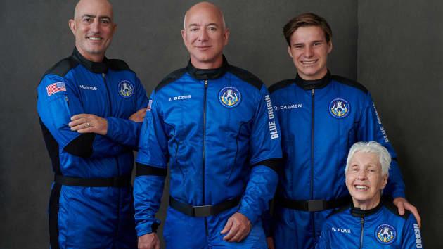 荷兰少年戴门:从未在亚马逊上购物 贝索斯的太空理解令人印象深刻