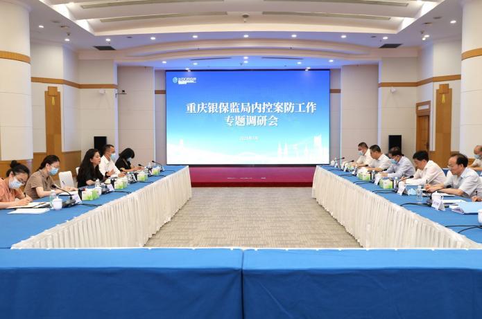 蒋平同志赴建设银行重庆市分行开展内控案防专题调研