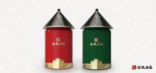 汇礼珍品珍知灼见高端茶叶礼罐系列非凡上市