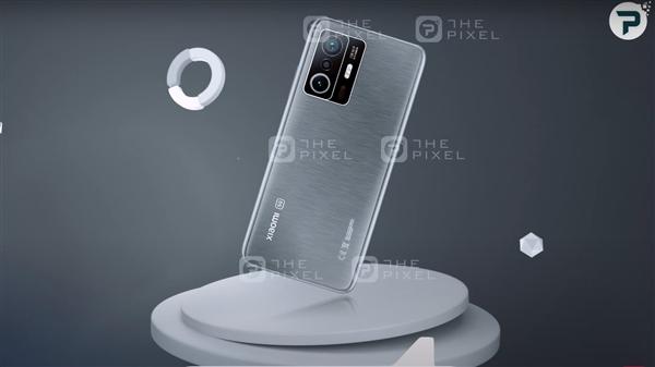 小米11T Pro渲染图曝光:骁龙888+侧面指纹