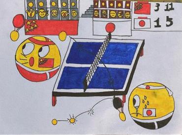 QQ上新16个表情包 千奇百态 原来是山区孩子们画的