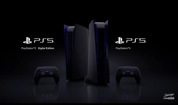索尼暗示:黑色版PS5主机要来了