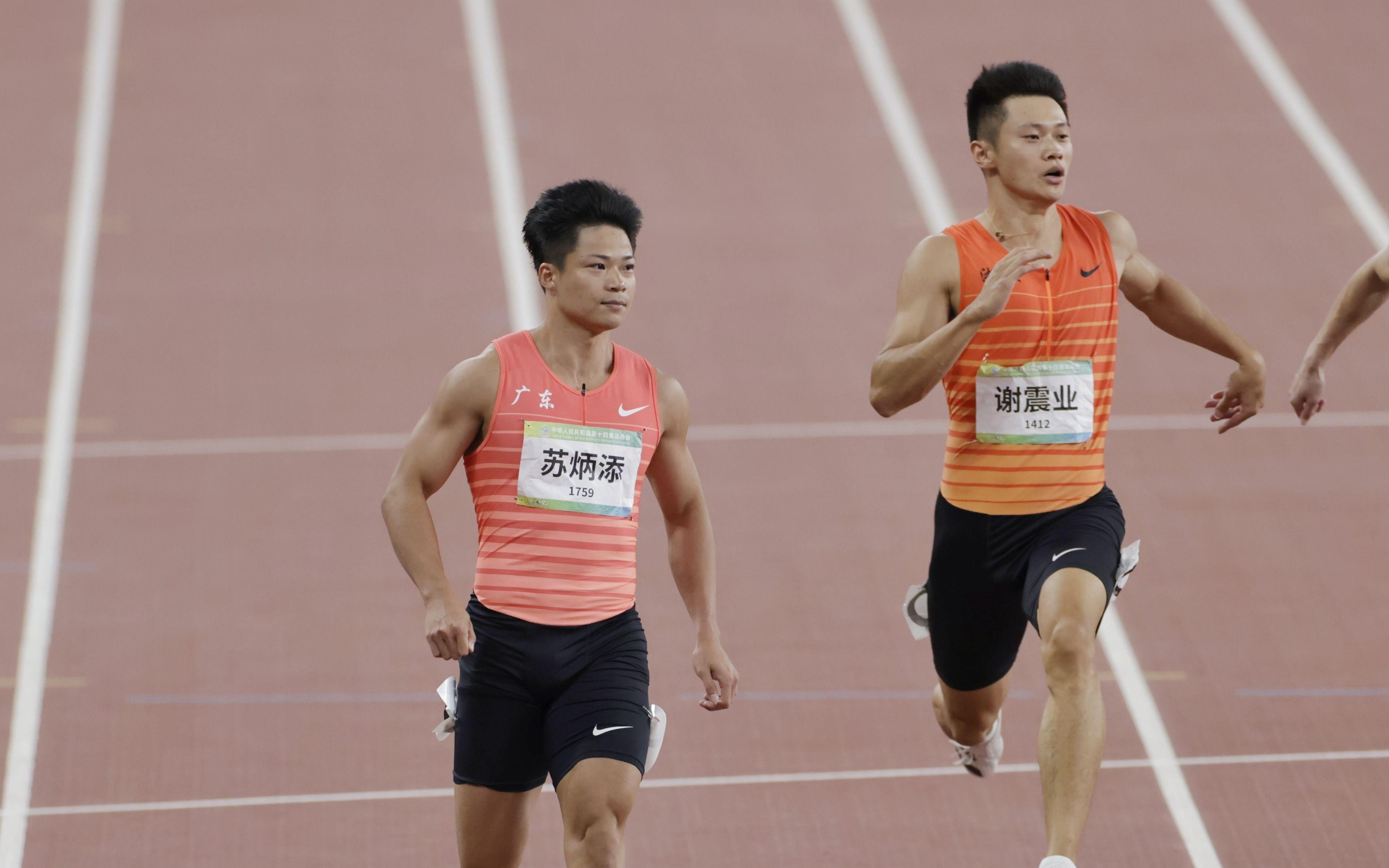 新闻8点见│9秒95!苏炳添首夺全运会百米冠军